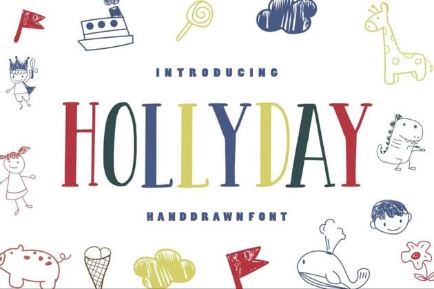Hollyday - Handdrawn Kids