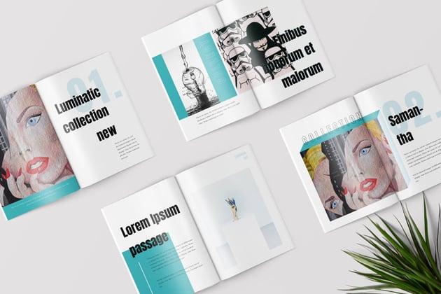Pop Art Affinity Designer Magazine Templates