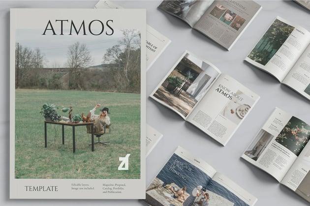 Multi Purpose Affinity Designer Magazine Templates
