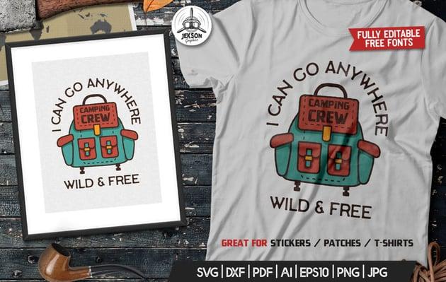 T Shirt Template Affinity Designer