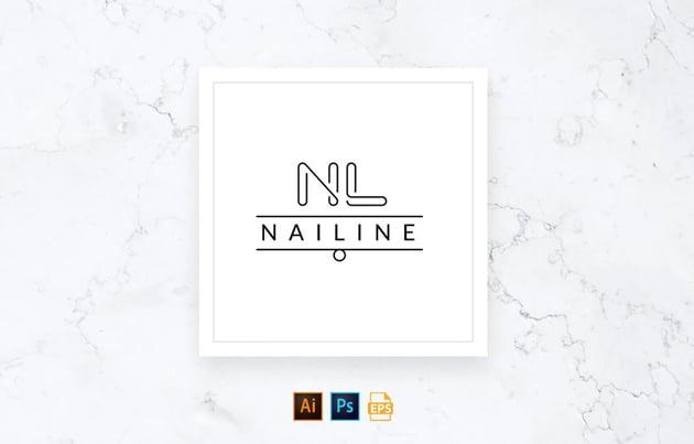 Nail Studio Shop Logo