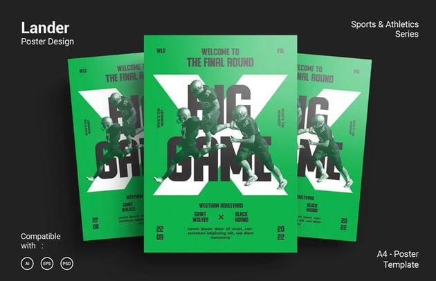 Lander Poster Design
