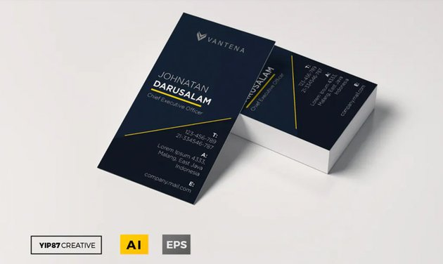 Modern Affinity Designer Business Card Template