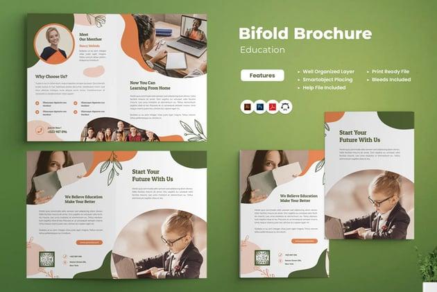 Education Affinity Designer Brochure Templates