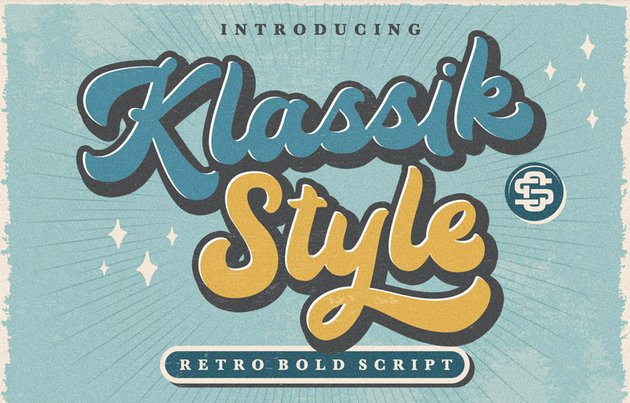free silhouette font