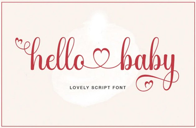 Silhouette fonts
