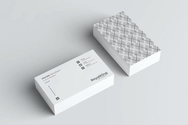 business card artwork