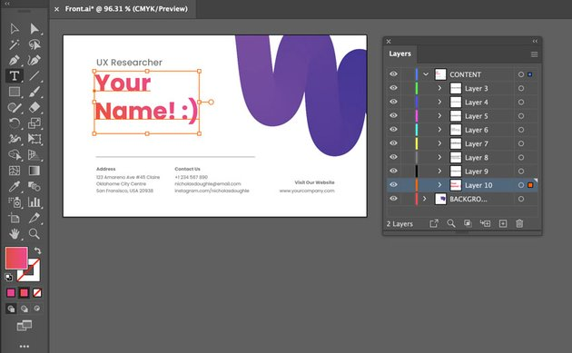 illustrator type tool