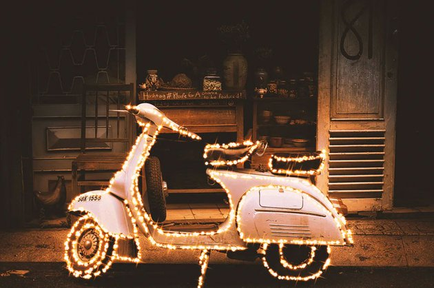 Gif Animated Christmas Bokeh Photoshop Action