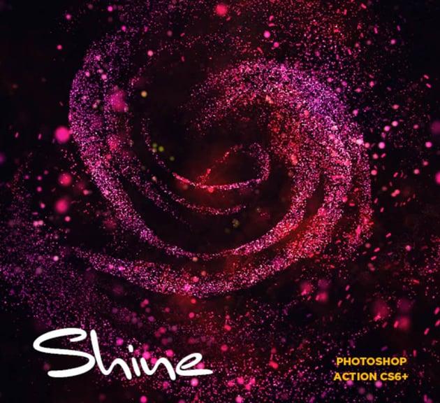 Shine CS6+ Photoshop Action