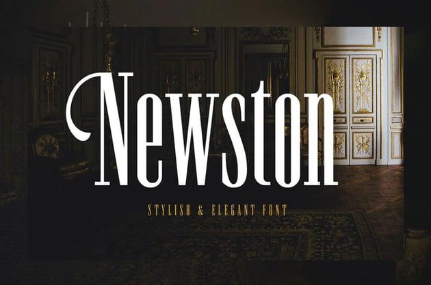Newston - Stylish Serif