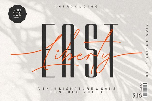 East Liberty Font
