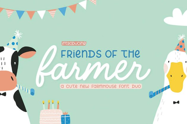 Friends of the Farmer Font Duo