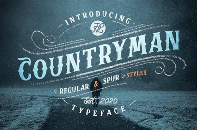 Countryman Typeface