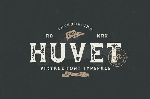 Huvet Font