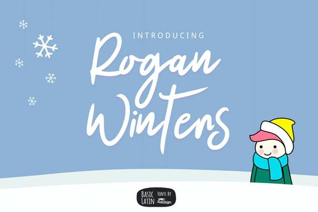Rogan Winter Font