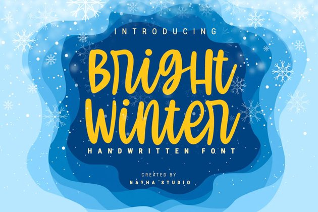 Bright Winter Font