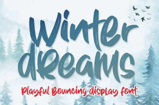 Winter Dreams Font