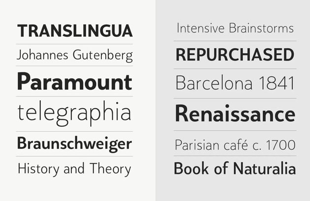 humanist sans serif