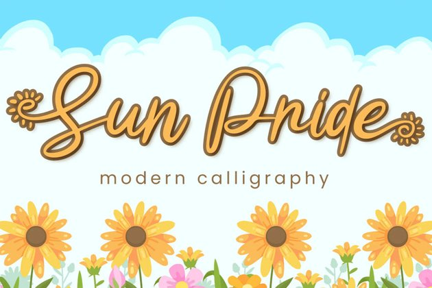Sun Pride Font