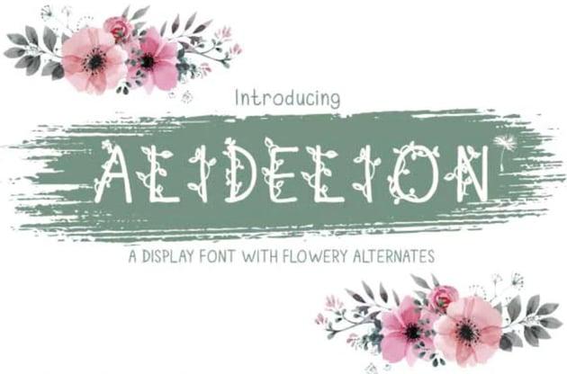 Alidelion Font