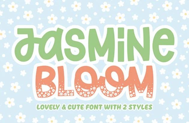 Jasmine Bloom Font