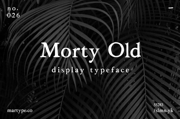 old style serif font