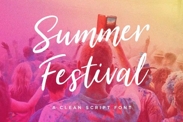 Summer Festival Typeface