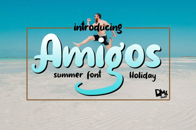 Amigos Summer Holiday Font