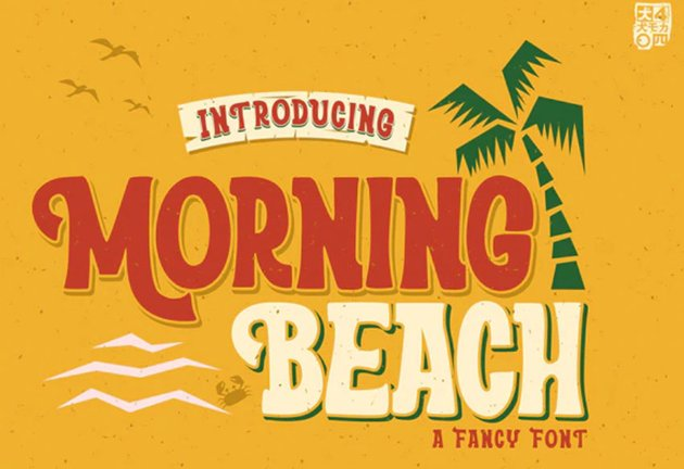Morning Beach Font
