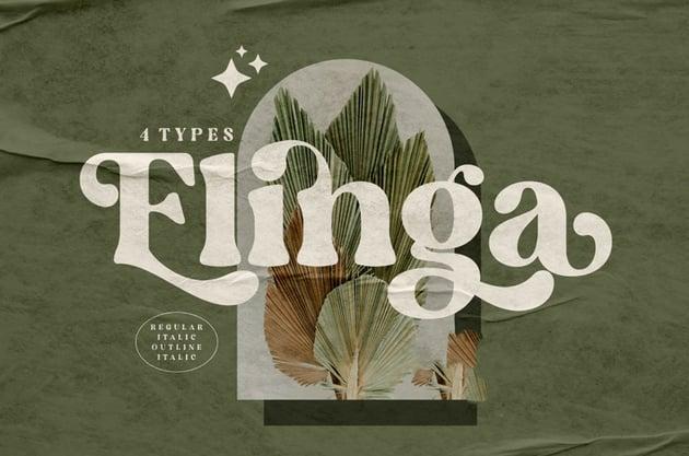 Elinga Classy Serif Font
