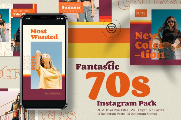 70's Instagram Pack
