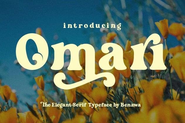 Omari Elegant Font Serif