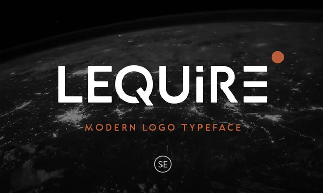 Lequire Modern Logo Typeface