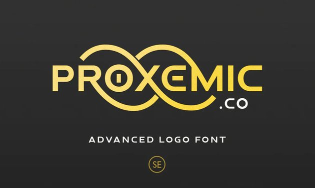 Proxemic Logo Font