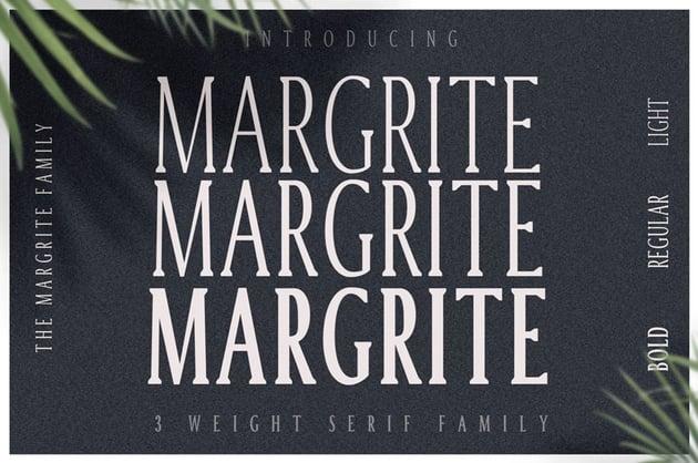 Margrite Tall Serif Font Family