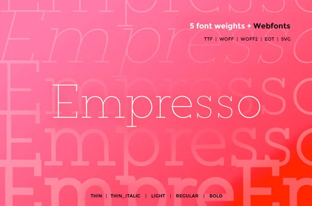 Empresso Classic WebFont