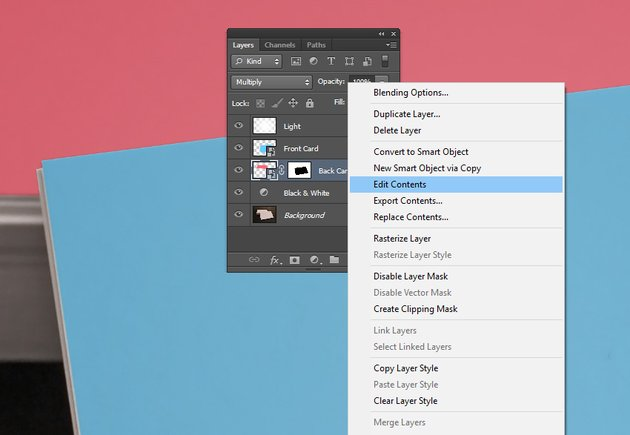 How to Edit Contents of a Smart Object and place your own image
