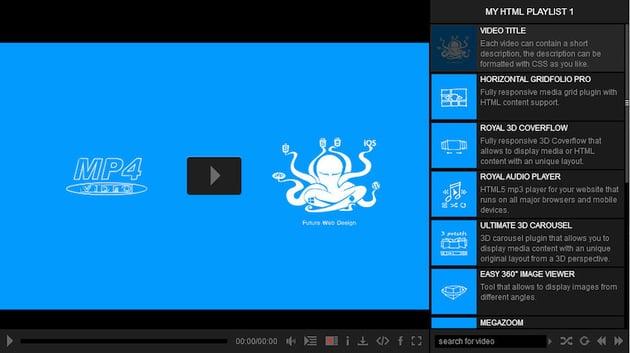 Ultimate Video Player plugin