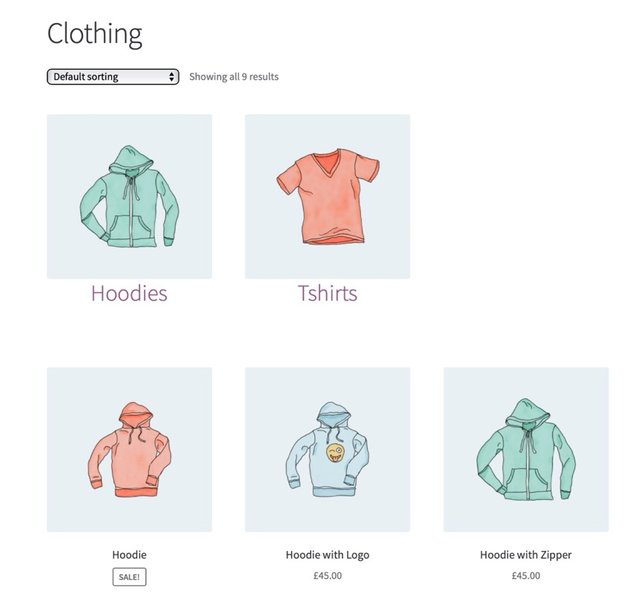 Final clothing archive page