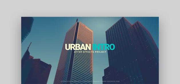 Urban Glitch - Best Intro Templates