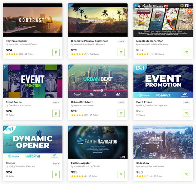 After Effects Business Templates That are Currently Trending on VideoHive