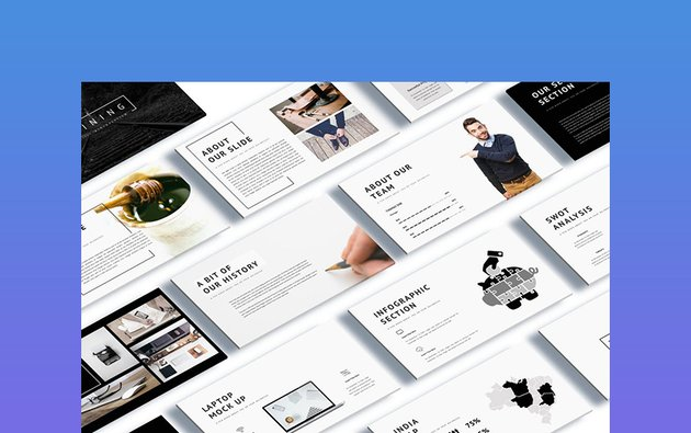 Shinning Creative Themes for Google Slides