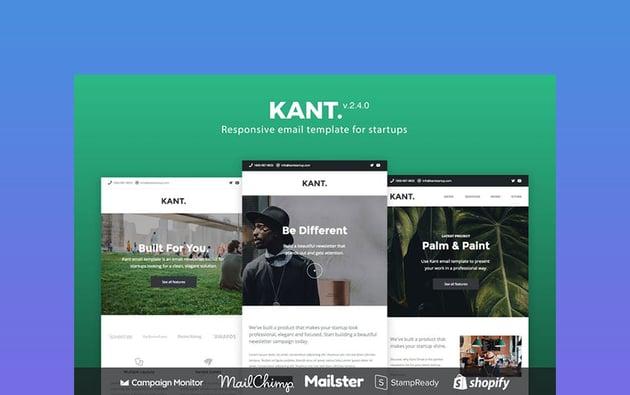 Kant Best Newsletter Design 2021