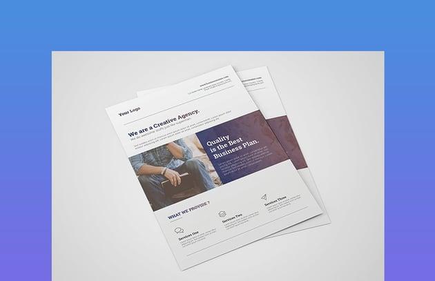Business Flyer  Creative Corporate Flyer Design