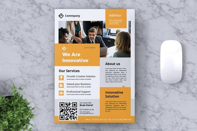 Corporate Business Flyer website summary