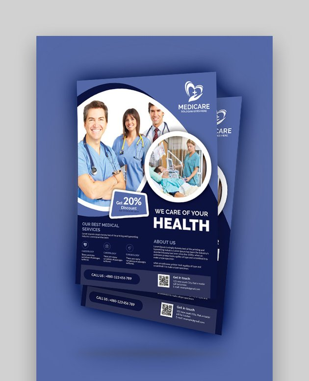 Medical and Health Care - Business Flyer Templates