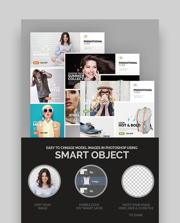 Promotional Business Flyer - Creative Template Design