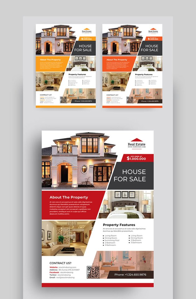 Real Estate - Ideas For Flyers For Business