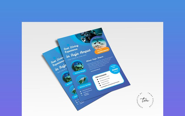 Travel - One Page Handout Template